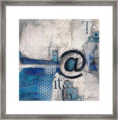 And It's Just Winter Drama  Framed Print by Laura  Lein-Svencner