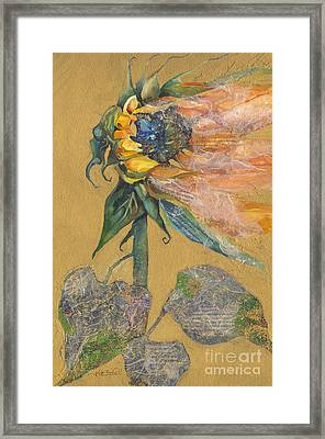 And Juliet Is The Sun Framed Print by Kate Bedell