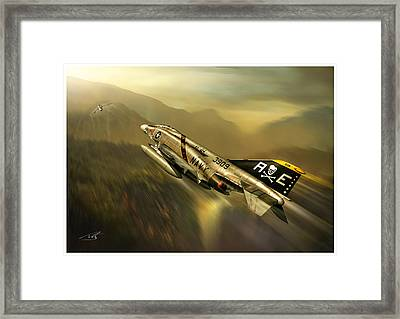 And Kill Migs Framed Print