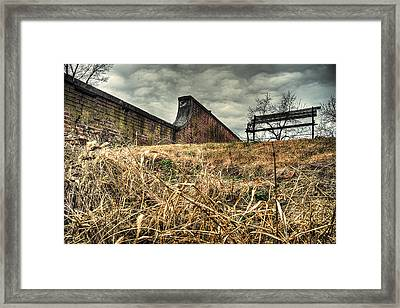 And My Busy Mind Wins Repose Framed Print by William Fields