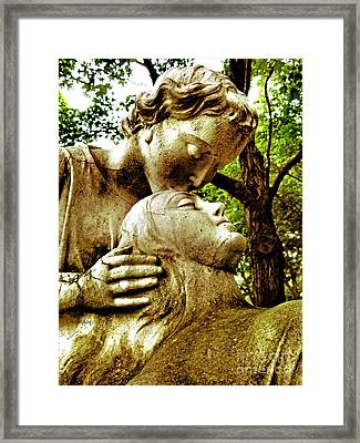 Framed Print featuring the photograph And Now We Are One  by Heather King
