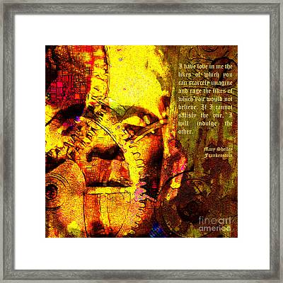 And Rage The Likes Of Which You Would Not Believe 20130718 Framed Print by Wingsdomain Art and Photography