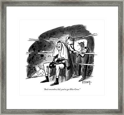 And Remember Framed Print by Barney Tobey