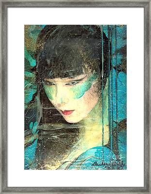 And She Waits Framed Print