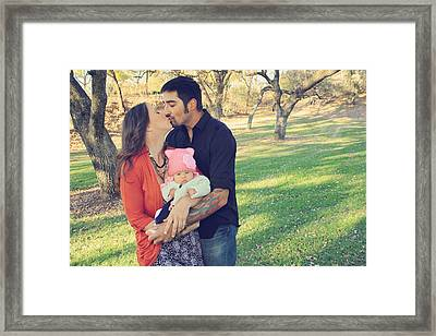 And She's Here Framed Print