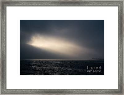 And Suddenly      Light Framed Print