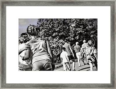 And The Children Will Come Framed Print by Madeline Ellis