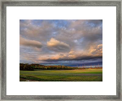 And The Earth Now Awakens Framed Print by William Fields