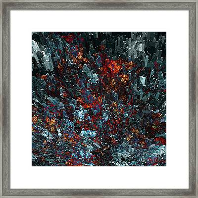 ...and The Earth Trembled Framed Print
