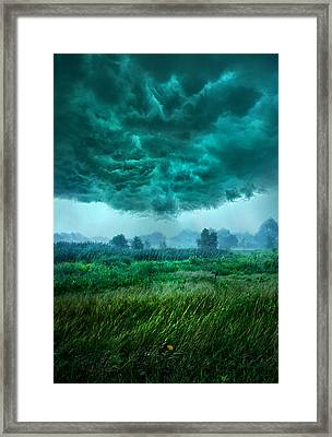 And Then I Ran Framed Print