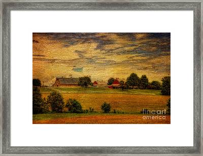 And The Livin' Is Easy Framed Print by Lois Bryan