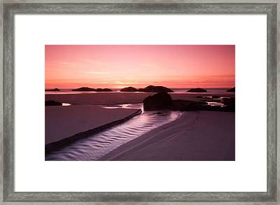 And The Rain Returns To The Sea Framed Print