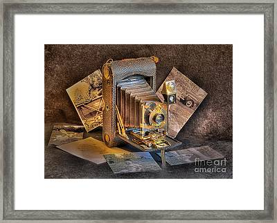 And Then Came Digital Framed Print