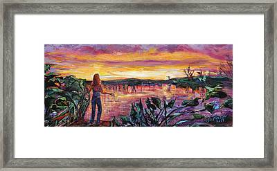 And Then She Was Gone Framed Print by Susi LaForsch