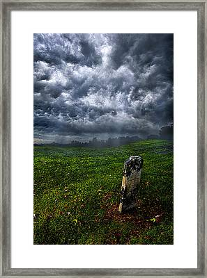 And Then There Was Gloom Framed Print by Phil Koch