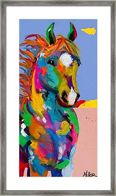 And They Called The Wind Mariah Framed Print by Tracy Miller