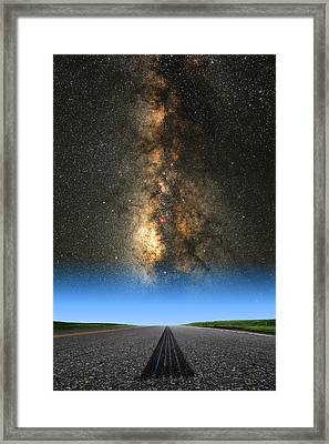 Framed Print featuring the photograph And They're Off  by Larry Landolfi