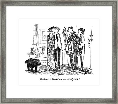 And This Is Sebastian Framed Print