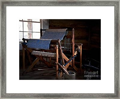And Weave These Threads Framed Print by Lee Craig
