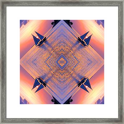 And Yet It Moves Framed Print by Iryna Goodall