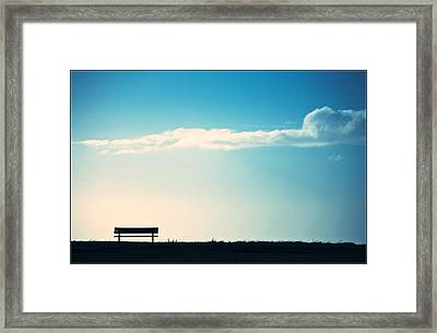 And You Were Gone Framed Print