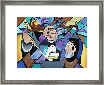 Anda One Anda Twoa Framed Print by Anthony Falbo