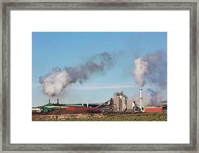 Andalusia, Spain. Olive Oil Refinery Framed Print by Ken Welsh