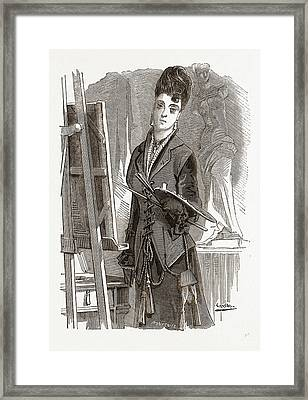 Andalusian Vest, 19th Century Fashion Framed Print