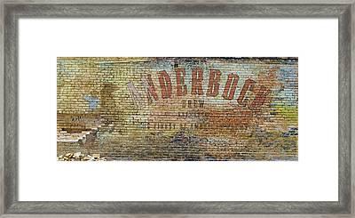Anderbock Brew Framed Print by John Babis