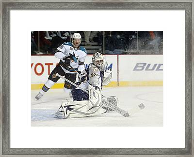 Framed Print featuring the photograph Anders Lindback by Don Olea