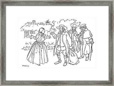 Andersen Good Man Framed Print by Granger