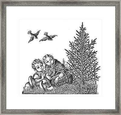 Andersen The Fir Tree Framed Print