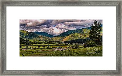 Anderson Creek Framed Print