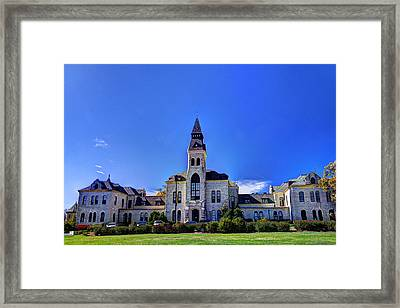 Anderson Hall At K-state Framed Print
