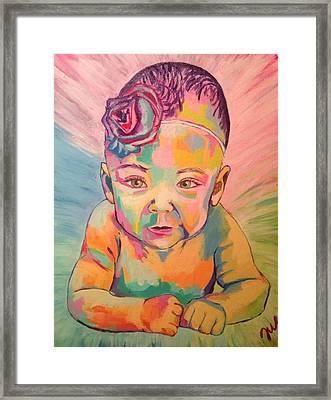 Andie Framed Print