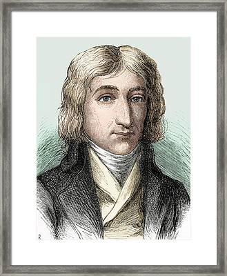 Andre-jaques Garnerin Framed Print