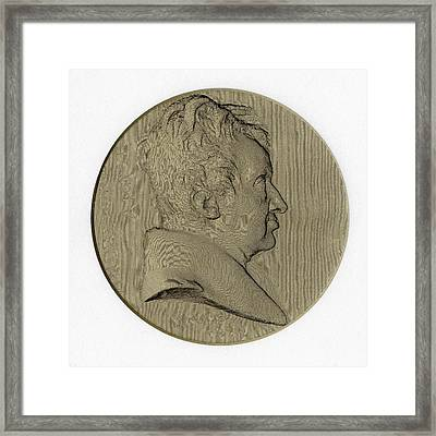Andre-marie Ampere Framed Print by Chemical Heritage Foundation