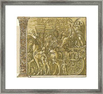Andrea Andreani After Andrea Mantegna, Italian Framed Print
