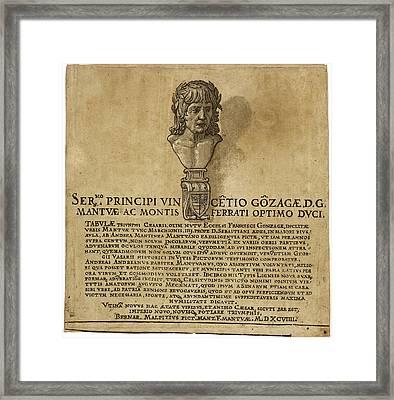 Andrea Andreani After Andrea Mantegna, The Triumph Framed Print