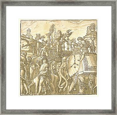 Andrea Andreani Italian, 15581559 – 1629 After Andrea Framed Print