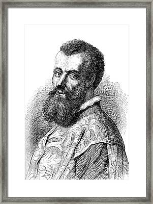 Andreas Vesalius Framed Print by Collection Abecasis
