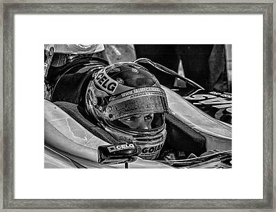 Andretti Driver Framed Print by Kevin Cable