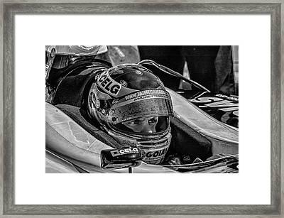 Andretti Driver Framed Print