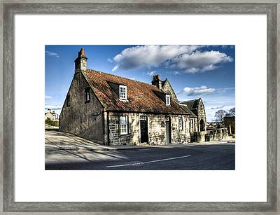 Andrew Carnegie's Birthplace Framed Print by Ross G Strachan