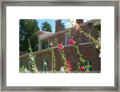 Andrew Jackson Home Framed Print