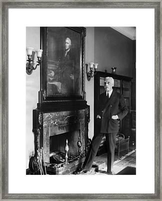 Andrew Mellon (1855-1937) Framed Print