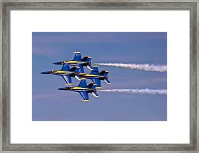 Andrews J B Air Show 11 Framed Print by Ricardo J Ruiz de Porras