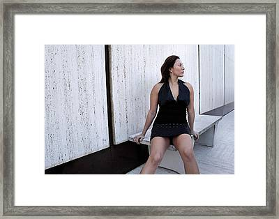 Andria 3 Framed Print by David Miller
