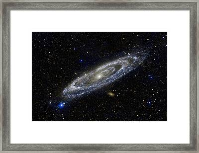 Andromeda Framed Print by Adam Romanowicz