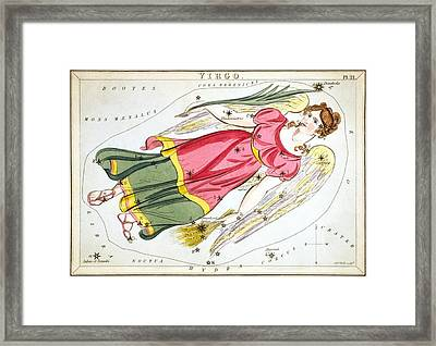 Virgo Framed Print by Celestial Images